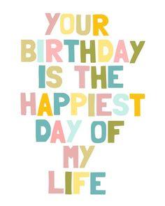happiest birthday quotes  via Fiona Childs