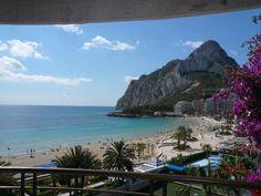 Feriehus leilighet Calp, Spania | 2 soverom, soveplass til 5 - Paraiso Mar: leilighet frontlinjen stranden i Calpe - 808034
