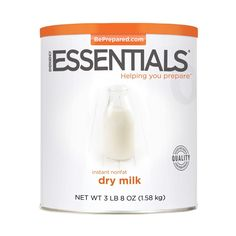 Emergency Essentials Instant Nonfat Dry Milk - 56 Ounces ** For more information, visit image link.