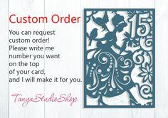Cinderella Card  SVG DXF ai eps  Pattern Card Templates