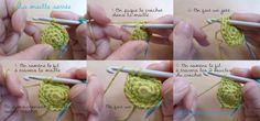 Crocheter un Amigurumi, leçon complète!!! - Tuto en français