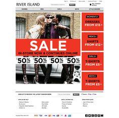Riverisland Sale