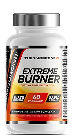 Brûleurs de graisse – Brûleurs de graisses extrêmes pour hommes et femmes – 60 gélules végétariennes – Fabriquées au Royaume-Uni – Pilules…