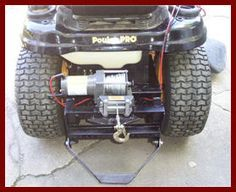 Electric Sleeve Hitch: Re: electric sleeve hitch. Sorry about the spelling on the last project. Made this electric sleeve hitch for my atv from scrap angle iron and square Tractor Accessories, Atv Trailers, Welding Training, Tractor Implements, Tractor Attachments, Metal Workshop, Welding And Fabrication, Shop Truck, Riding Lawn Mowers