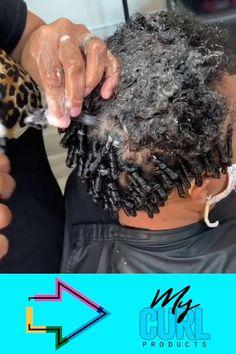Coiling Natural Hair, Natural Hair Braids, Curly Hair Tips, Braids For Black Hair, Natural Hair Short Cuts, How To Curl Short Hair, Natural Hair Care, Natural Hair Styles, Mens Braids Hairstyles