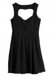 Anomalous Hem Riveted Black Vest  $37.99 - i wouldn't call it a 'vest' per se but i'll go with it.