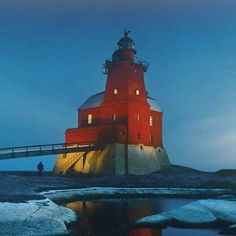 The lighthouse of Kallbåda, Finland by Divonsir Borges
