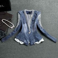 casaco denim lady - stu1000396