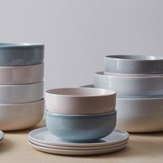A cool contemporary tableware collection produced by Danish design brand Menu in conjunction with designers Norm.  -Hand glazed coloured porcelain designed for everyday use  Colour Guide: Pink - Nude