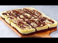 Ha meg szeretnéd lepni a családot, készítsd ezt a túrós sütit. Biztos siker!  Ízletes TV - YouTube Queso, Cheesecake, Good Food, Food And Drink, Sweets, Baking, Tv, Gourmet, Crack Cake