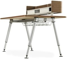 Sense Modern Computer Desk / Workstation by Herman Miller