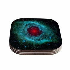 Suzanne Carter 'Helix Nebula' Celestial Coasters