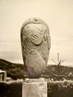 Max Ernst, Stone sculpture, 1935
