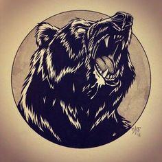 ... tattoo bear crez tattoo bear draws kevin tattoo grizzly bear tattoo