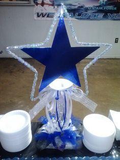 Dallas Cowboys Centerpieces Decorations   Dallas Cowboys Theme