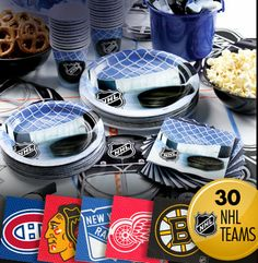 hockey party favors - Google Search