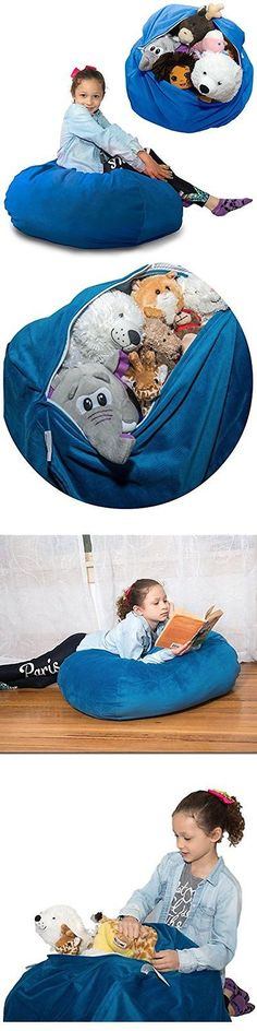 Bedroom Playroom and Dorm D cor 115970: Stuffed Animal Toy Bags Nets Storage Bag (Large) Doubles Comfy Chair. Replace -> BUY IT NOW ONLY: $34.75 on eBay!