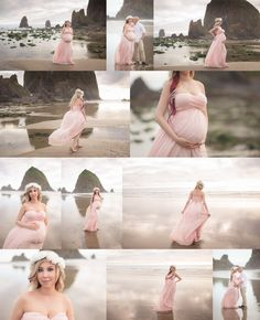 Maternity Photoshoot is trending these days. Maternity Photoshoot acts as a souvenir. Beach Maternity Photos, Maternity Photography Poses, Maternity Poses, Maternity Portraits, Maternity Photographer, Maternity Dresses, Pregnancy Photos, Cannon Beach, Oregon Coast