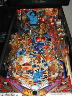 1996: Tales of the Arabian Nights Pinball by Williams (Playfield). Clic for video.