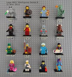 Great idea for displaying the lego series sets!