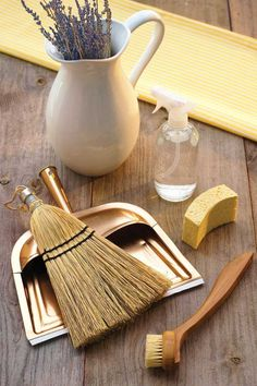Make your home sparkle with easy homemade cleaners, and kick hazardous chemical cleaners to the curb.data-pin-do=