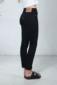 New arrivals : Authentic Skinny Black Levis Jeans