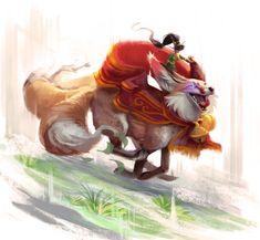 Magic Fox by TehChan