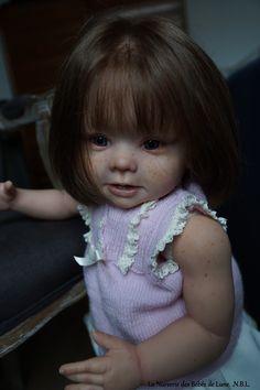 Elen reborn baby Toddler kit Bonnie de Linda Muray