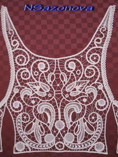 Irish Crochet....✿⊱╮Aphodite Sejuti http://www.pinterest.com/asenjuti/✿⊱╮