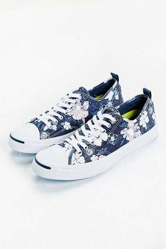 e7689fc69af Converse Jack Purcell Floral Sneaker