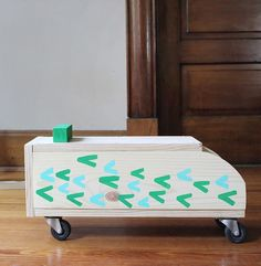 Make a vintage inspired, ride-on, wooden toy with this step-by-step tutorial!