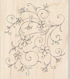 Paper Embroidery Patterns Stamp but would look nice as embroidery - Hand Embroidery Tutorial, Embroidery Flowers Pattern, Paper Embroidery, Learn Embroidery, Hand Embroidery Designs, Beaded Embroidery, Embroidery Stitches, Flower Patterns, Satin Stitch
