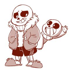 Sans and Lil Sans || by: mudkipful (Tumblr), i love this art, i really do. follow them on tumblr