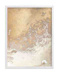 """""""Aurum Sand No. 3"""" - Art Print by Julia Contacessi in beautiful frame options and a variety of sizes."""