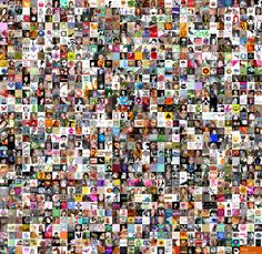 Etsy mosaic of users from 2005
