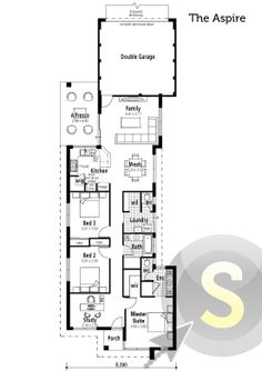 The Expert\' floorplan. 12m frontage. 3x2. Alfresco, theatre ...