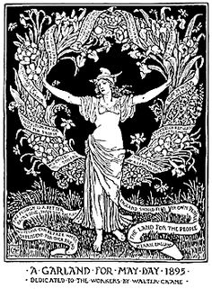 May Day! I love the dual nature of the day: Labor on the one hand, and pagan festivities on the other!