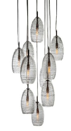 SPUN THREAD PENDANT - Dering Hall. From John Pomp Studios