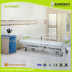 China supplier three functions electric hospital medical bed price Bed Price, Shower Chair, Hospital Bed, Clinique, Bunk Beds, Electric, Medical, China, Storage