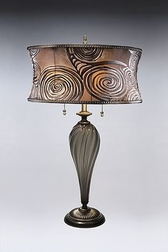 Gracie Table Lamp by Caryn and Susan Kinzig