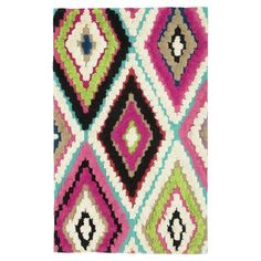 Kaleidoscope Kilim Rug from Picsity.com #rug #warm #wool #home #bedroom #wonderfully