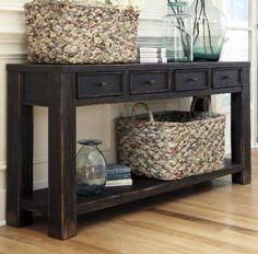 Gavelston Distressed Black Sofa Table by Ashley Ashley,http://www.amazon.com/dp/B00IZ9IQ5O/ref=cm_sw_r_pi_dp_SVFqtb0GVXYESV06