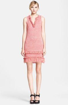 Missoni Fringe Trim Knit Shift Dress available at #Nordstrom 2015