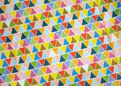 triangles  original fabric  fat quarter  by KatherineCodega, $9.00