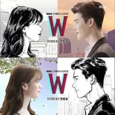 W Two Worlds - when you become a character in a webtoon Lee Jong Suk, W Two Worlds Art, W Korean Drama, Kdrama, Kang Chul, Regret, Han Hyo Joo, Lee Jung, Japanese Drama
