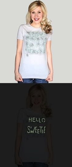 Doctor Who River Song Hello Sweetie Glow In The Dark T-Shirt