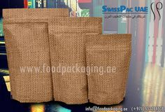 #JuteLookHighBarrierBags  http://www.foodpackaging.ae/