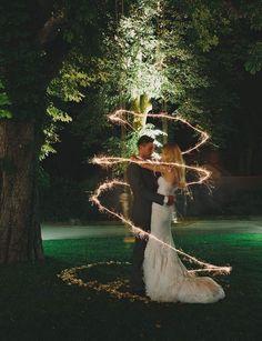 FéériqueRien de tel qu'un jeu de lumières pour illustrer la magie de l'amour.