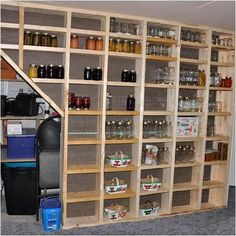 Build Between Wall Studs Shelving DIY Project Homesteading - The Homestead…