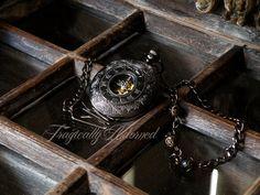 II Dashing Mechanical Pocket Watch by TragicallyAdorned on Etsy, $50.00